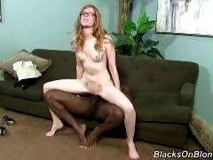 blacks on blondes-April Turner