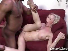 Skylar Green's in the mood to make someone her cuckold: You! The tiny blonde has Jovan...