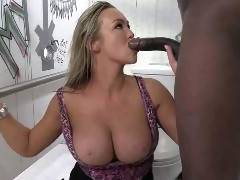 Abbey Brooks' return to our network has her getting fucked in a dirty place--in more ways than one
