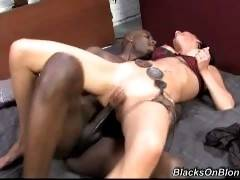 Blacks On Blondes. Carina Roman